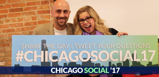 EllyDeutchChicagoSocialMediaDay2017_withDanGingiss