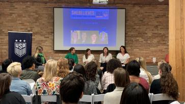 WISE Chicago U.S. Soccer Women's World Cup Panel - Elly Deutch Moody - Chicago 2019